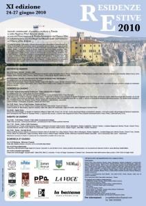 residenze estive 2010 - XI edizione